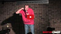 See a comedy video of stand up comedian Gabe Kea as he performs a comedy clip at Go Bananas Comedy Club in Cincinnati, Ohio about how Michael Phelps is built for swimming. Clip provided by Rooftop Comedy