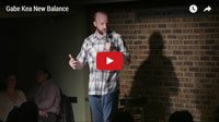 Gabe Kea stand up comedy video New Balance