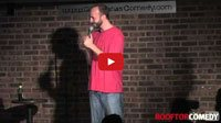 See a comedy video of stand up comedian Gabe Kea as he performs a comedy clip at Go Bananas Comedy Club in Cincinnati, Ohio about pet attack ads. Clip provided by Rooftop Comedy