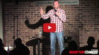 See a comedy video of stand up comedian Gabe Kea as he performs a comedy clip at Go Bananas Comedy Club in Cincinnati, Ohio about how he was acting sketchy trying to buy some FroYo. Clip provided by Rooftop Comedy